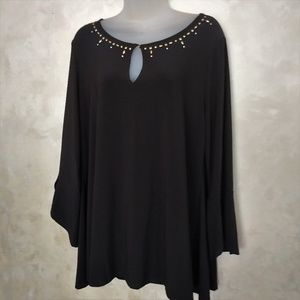 Chaus Flowing Tunic Like New L